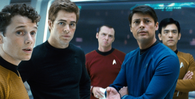 "First Peek: New ""Star Trek"" Streaks Across Cyberspace"