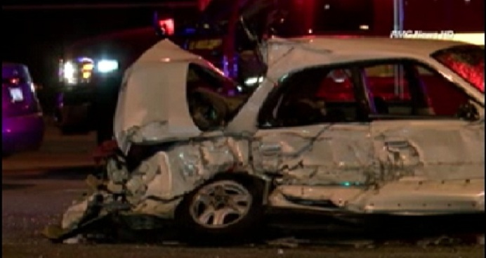 7 Injured, 1 Child Dead After Multi-Car Crash in Azusa