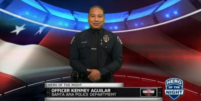 Hero of the Night: Officer Kenney Aguilar