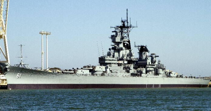 Welcome Uss Iowa