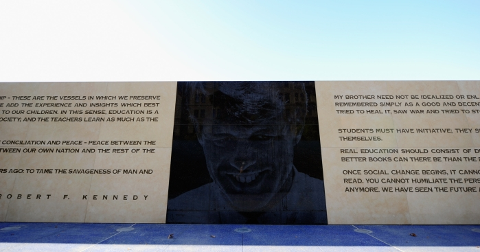 Monument to Robert Kennedy Completed