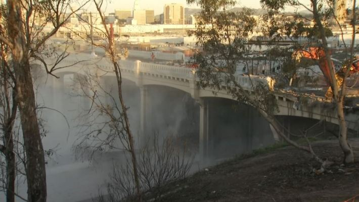 Stretch of the 101 Freeway Closes for 40 Hours