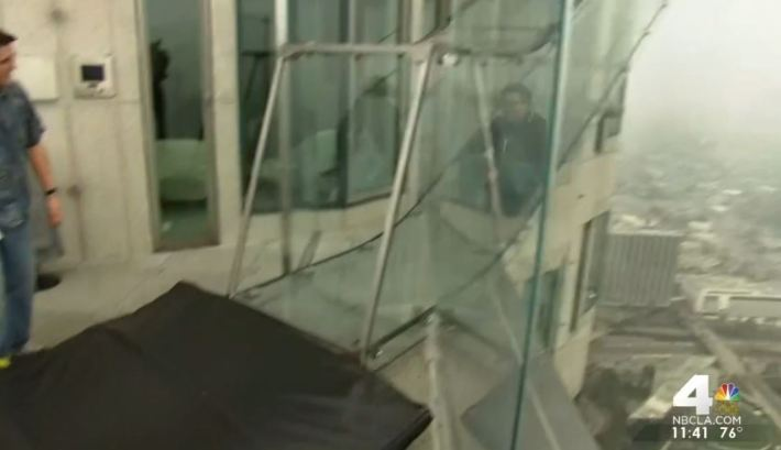 This is What Riding the Skyslide Looks Like