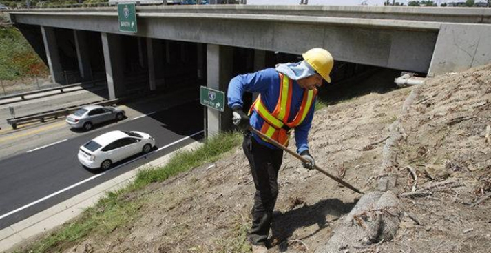 Caltrans Halts Maintenance Work in Wake of Worker's Death