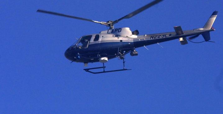 LAPD Helicopter Takes Gunfire, Arrest Made - NBC Southern