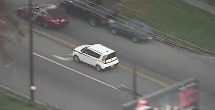 Robbery Suspects Lead Police On High-Speed Chase From