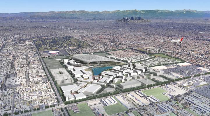 LA Rams Stadium Development in Inglewood