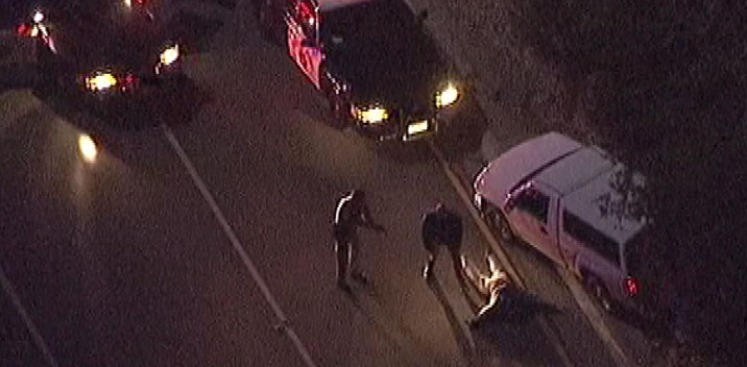 Police Chase Winds Through Silver Lake, Ends in Arrest