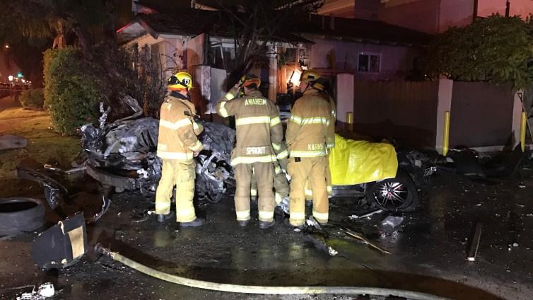 2 Killed in Fiery Street Racing Crash