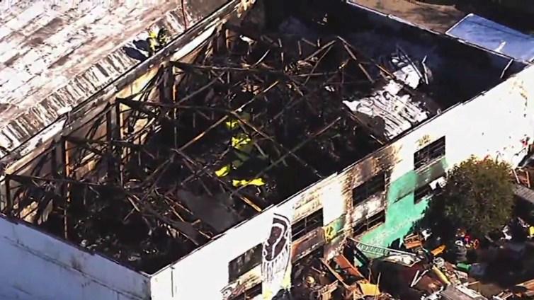 Defense Team For Derick Almena: Fire Started Next Door