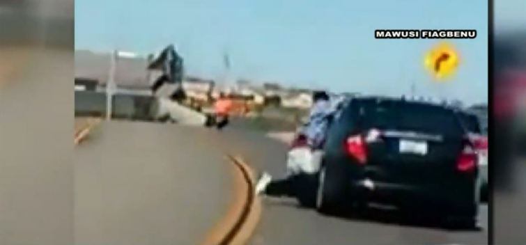 Caught on Camera: Car Drags Man Through SoCal Streets