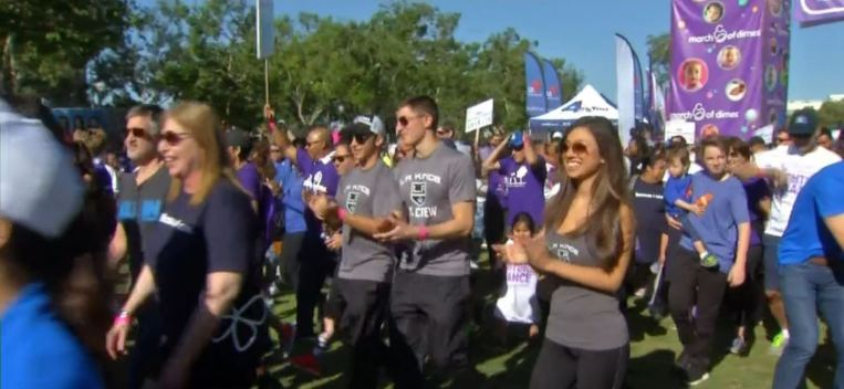 March for Babies: Thousands March in Exposition Park