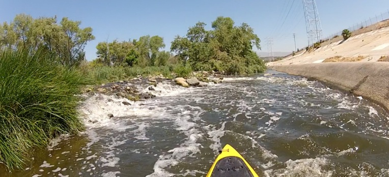 LA River Section Opens to Kayakers and Fishing