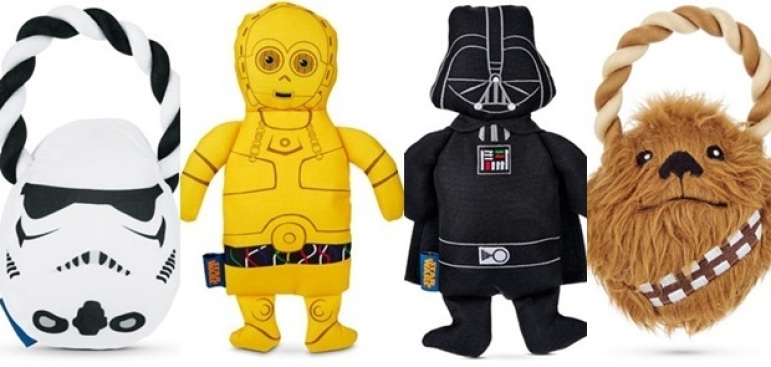 "May the Fourth: Happy ""Star Wars"" Day (Dog Toy Edition)"