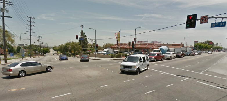[PHOTOS]LA Intersections Among Worst for Traffic Safety