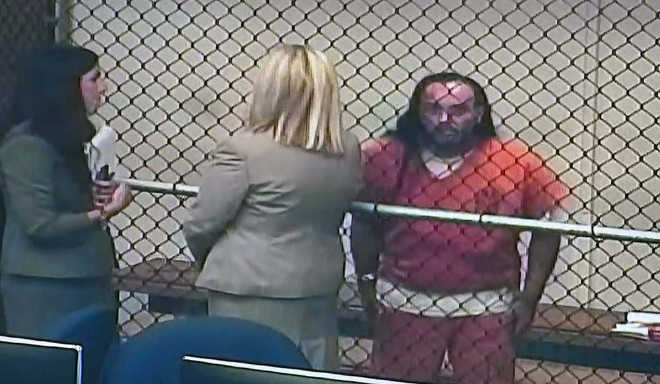 Man Suspected of Sparking Holy Fire Appears in Court