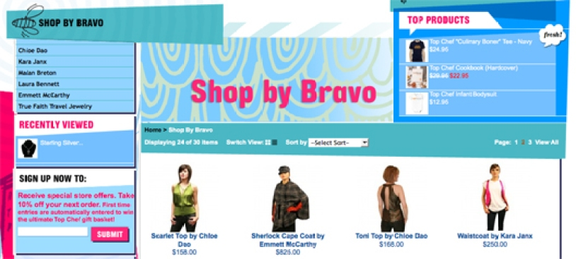 Bravo's Online Shop and Slew of Fashion-Based Reality Shows