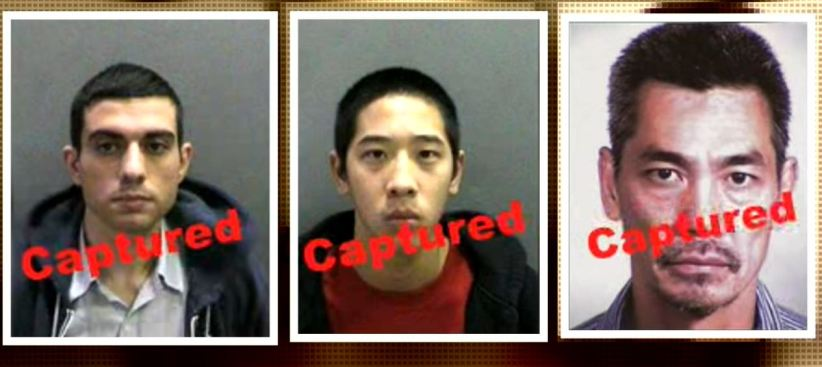 $150,000 Reward to Be Given to Homeless Man, Target Employees, Van Owner in Capture of Escaped OC Inmates