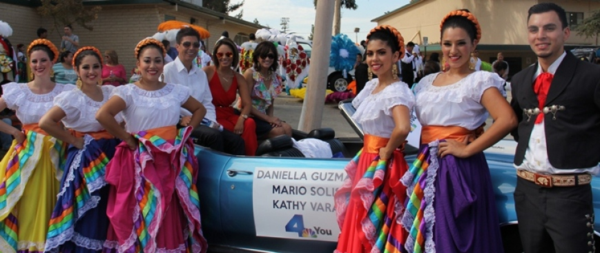 NBC4 Joins the Mexican Independence Day Parade