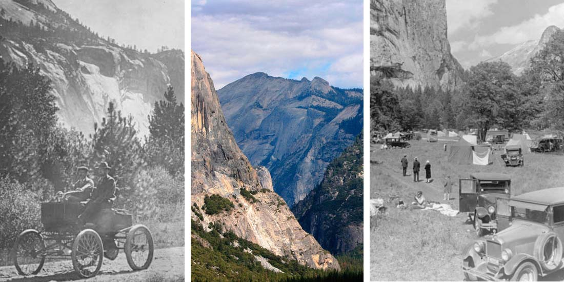 A look at vintage photos from Yosemite National Park.