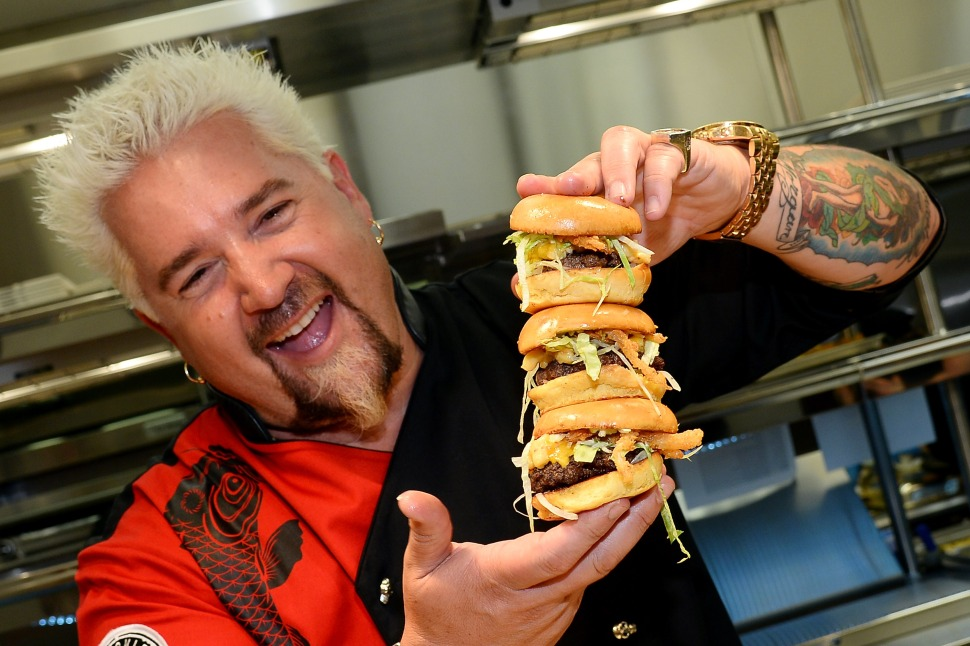 Guy Fieri Responds to Anthony Bourdain: 'I Don't Like Him Making Fun of People'