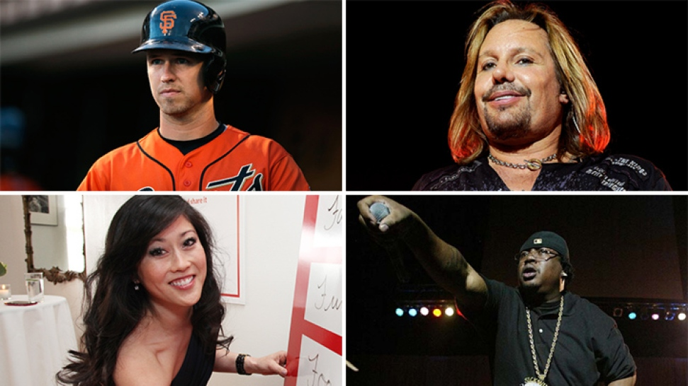Buster Posey, Kristi Yamaguchi, Vince Neil & 24-Hour Fitness Founder on New Water Waster List