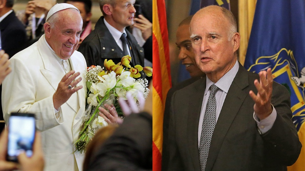 California Gov. Jerry Brown to Meet With Pope on Climate Change