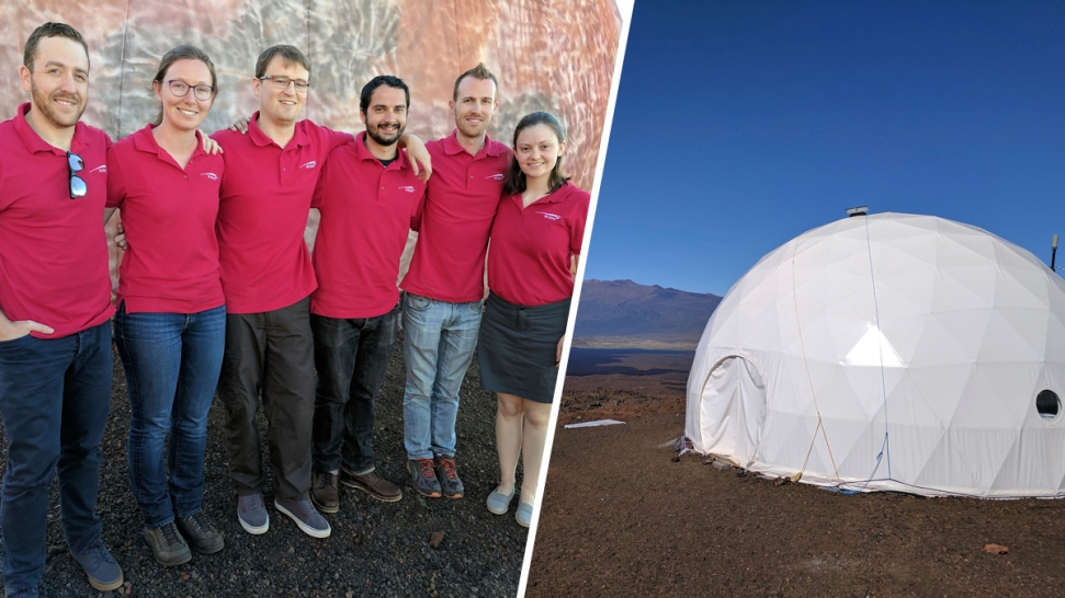 Freeze-Dried Food and 1 Bathroom: 6 Scientists Simulate Mars in Dome