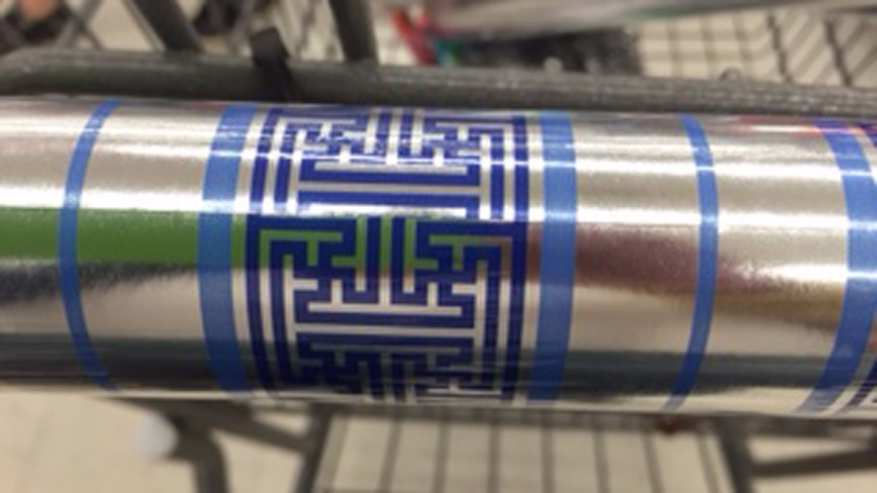 "Walgreens Pulling ""Swastika"" Wrapping Paper After SoCal Woman's Complaint"