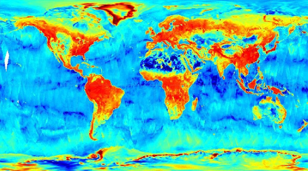 NASA Observatory Sends Back First Images of Earth's Soil Moisture