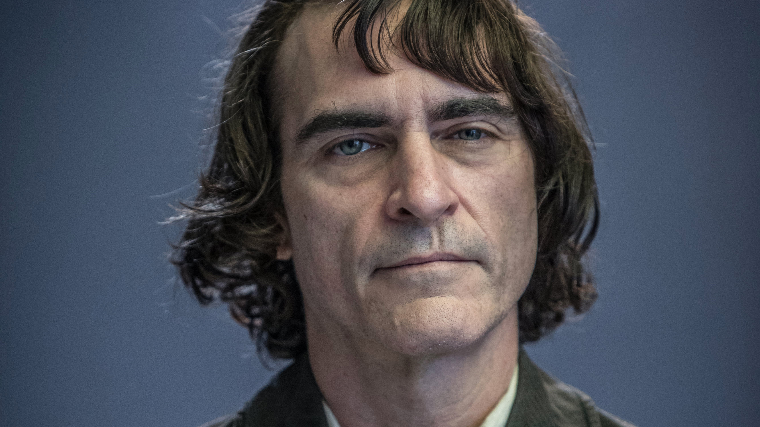 """Joaquin Phoenix as Arthur Fleck in """"Joker,"""" from Warner Bros. Pictures, Village Roadshow Pictures and BRON Creative. A Warner Bros. Pictures release. Photo by Nikos Tavernise"""
