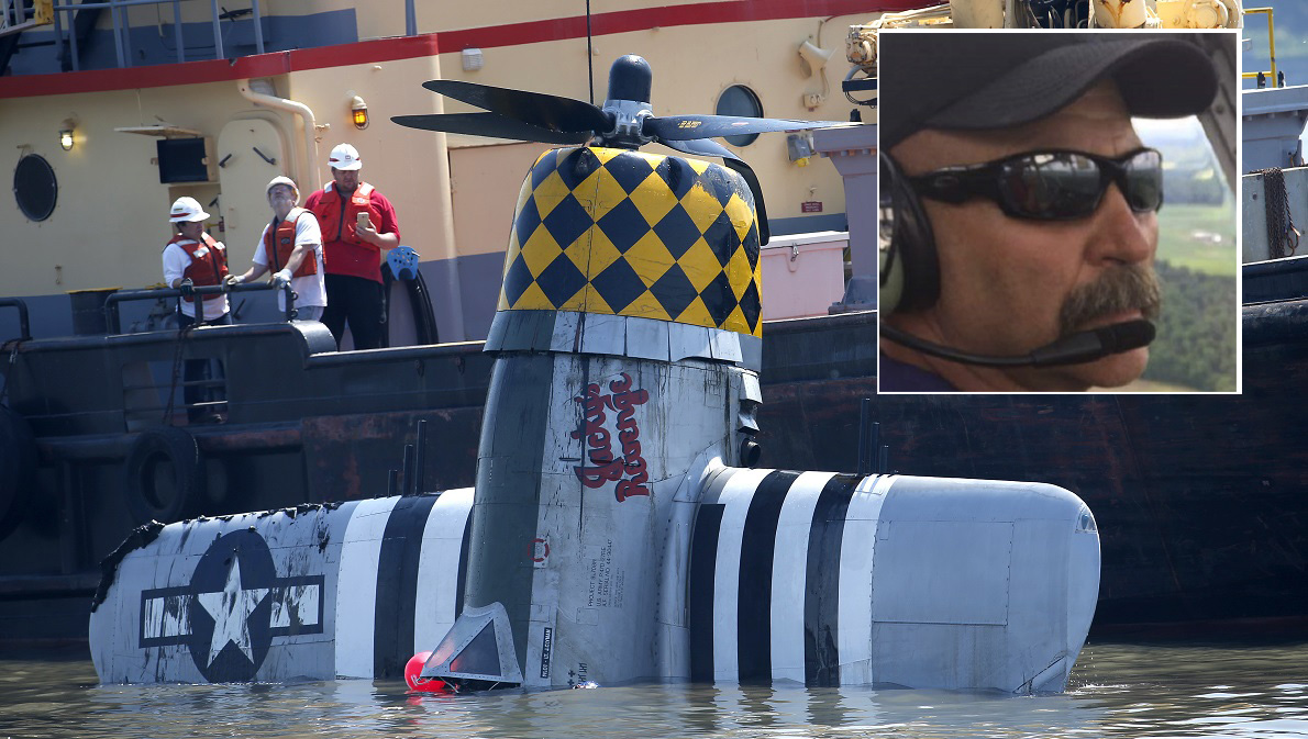 WWII Plane Crashes in NY River