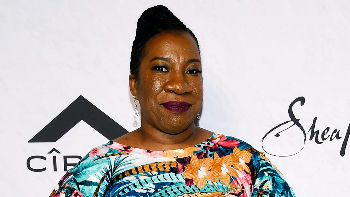 In this April 13, 2018, file photo, activist Tarana Burke, founder of the #MeToo movement, is seen in New York.