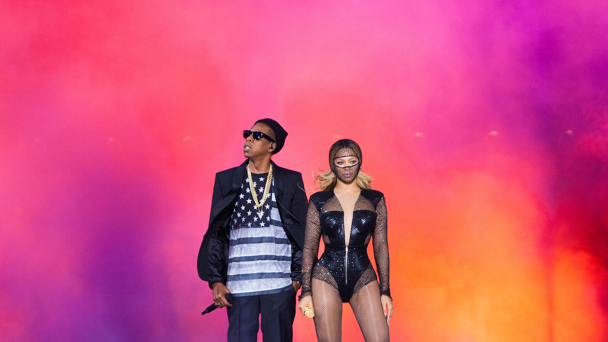 In this file photo, Beyonce and Jay-Z perform during the