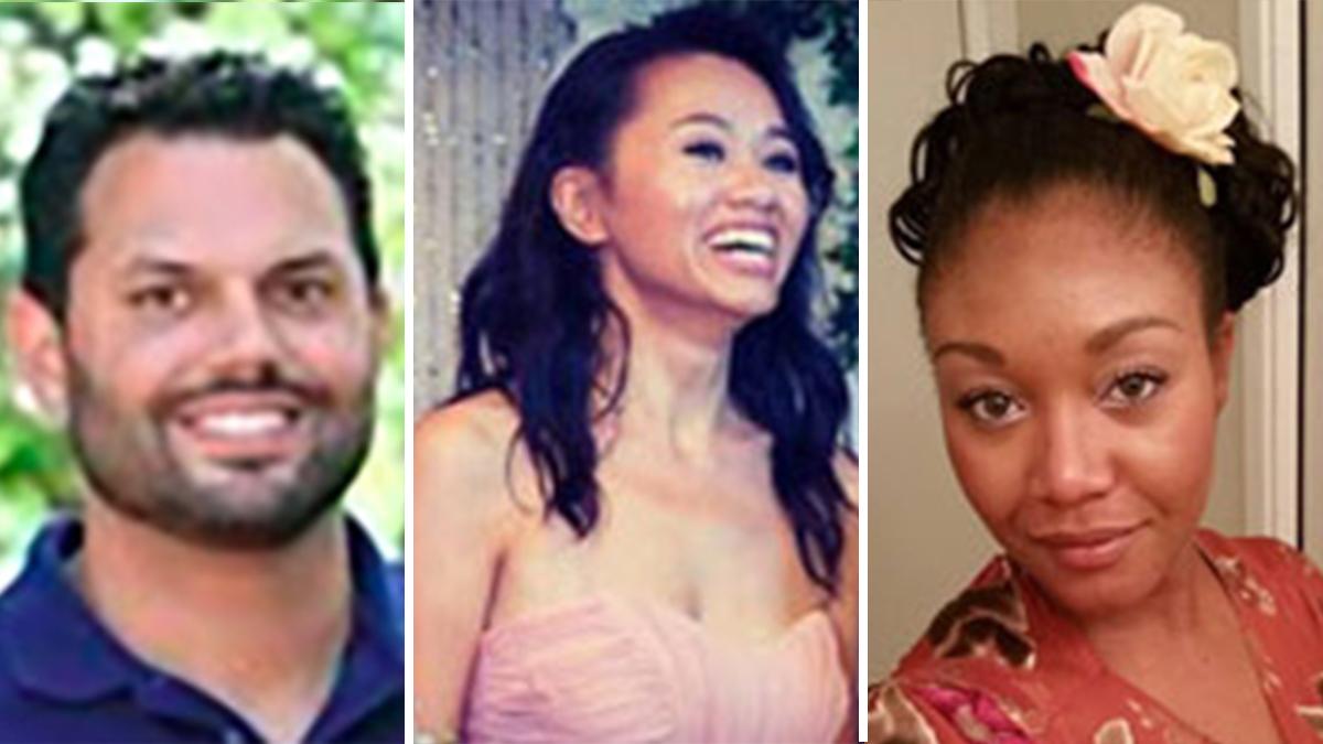 Michael Wetzel, Tin Nguyen and Sierra Clayborn.