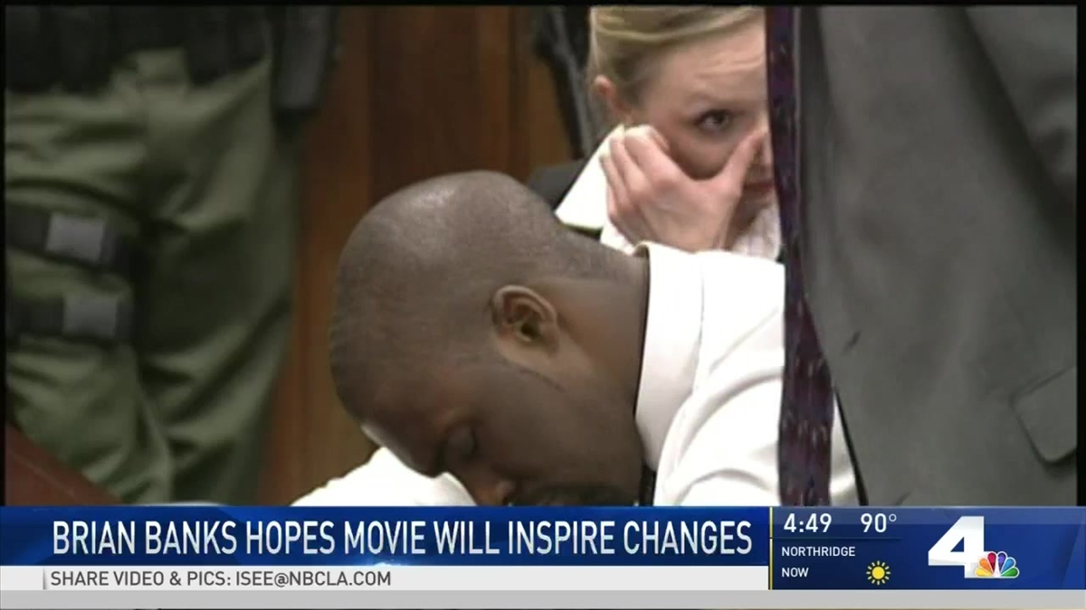 Movie Sheds Light on Brian Banks' Wrongful Conviction