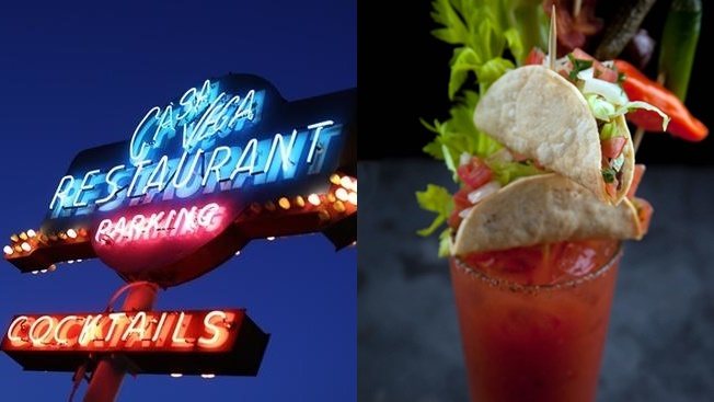 Order a Bloody Mary or Michelada on Wednesday, Oct. 4, then munch upon the unusual drink toppers.