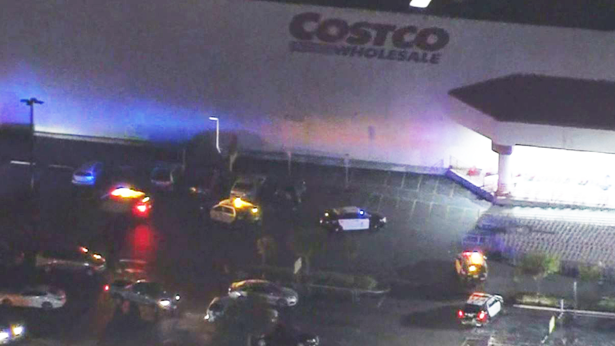 An attempted robbery at a Costco in Northridge forced an evacuation on Jan. 7, 2019.