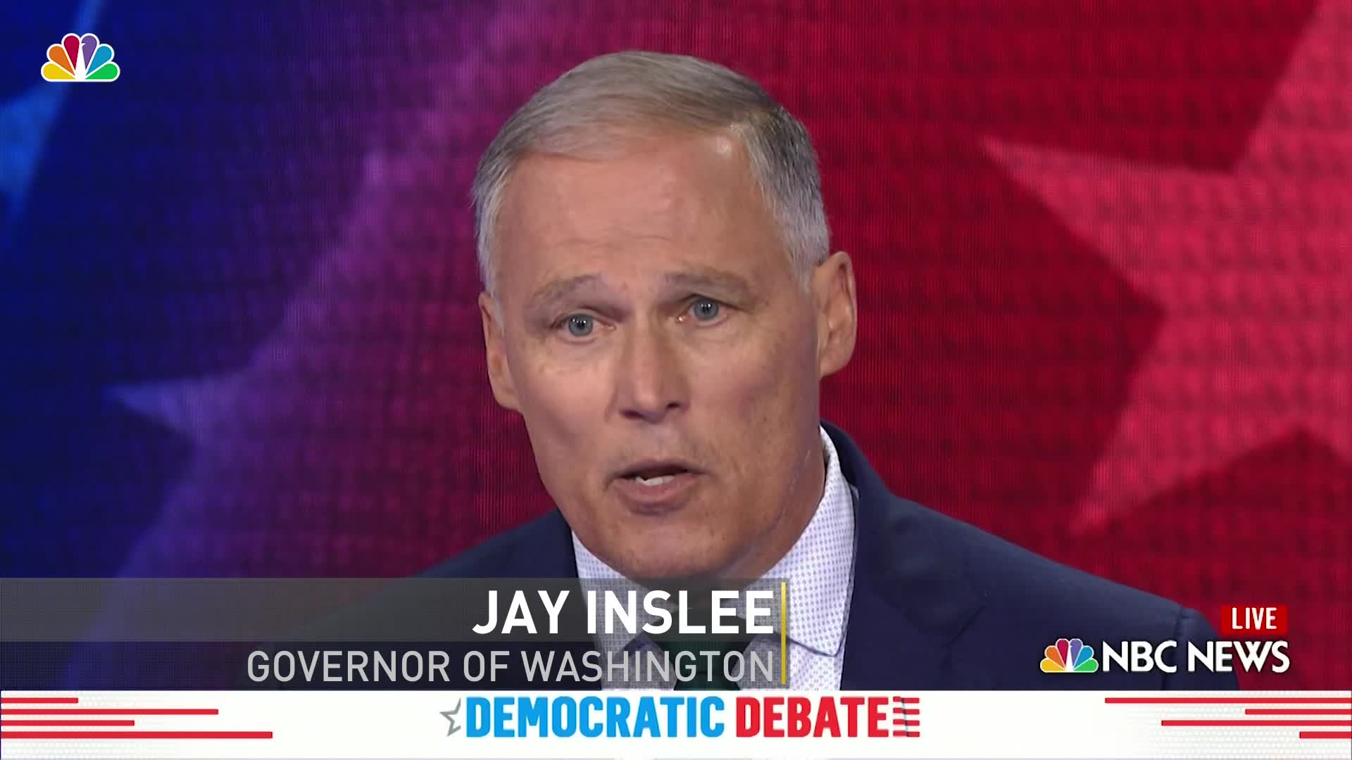 Jay Inslee: 'This is a climate crisis, an emergency, and it is our last chance... to do something about it'