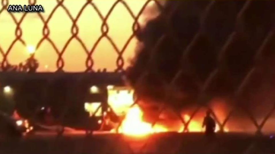 Deadly Plane Crash at Fullerton Airport