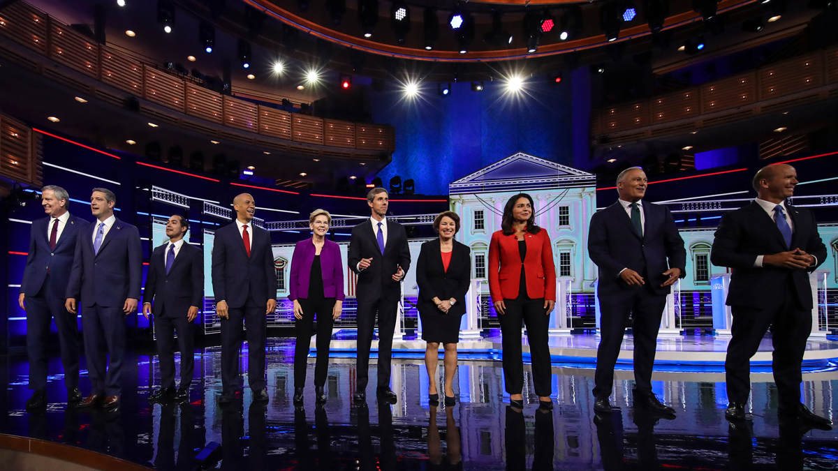 Watch the Full Remarks of Each Candidate, Dem Debate Night 1