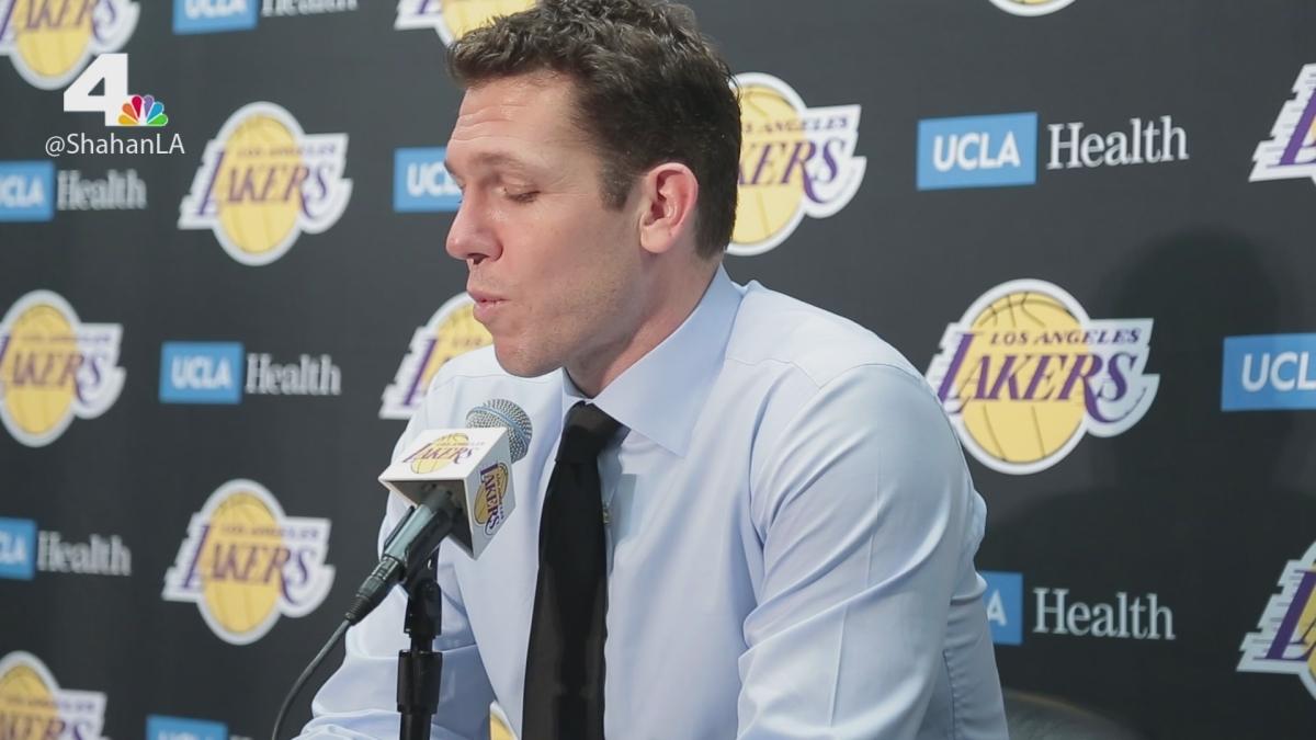 Lakers Beat Celtics 108-107 - Luke Walton Postgame