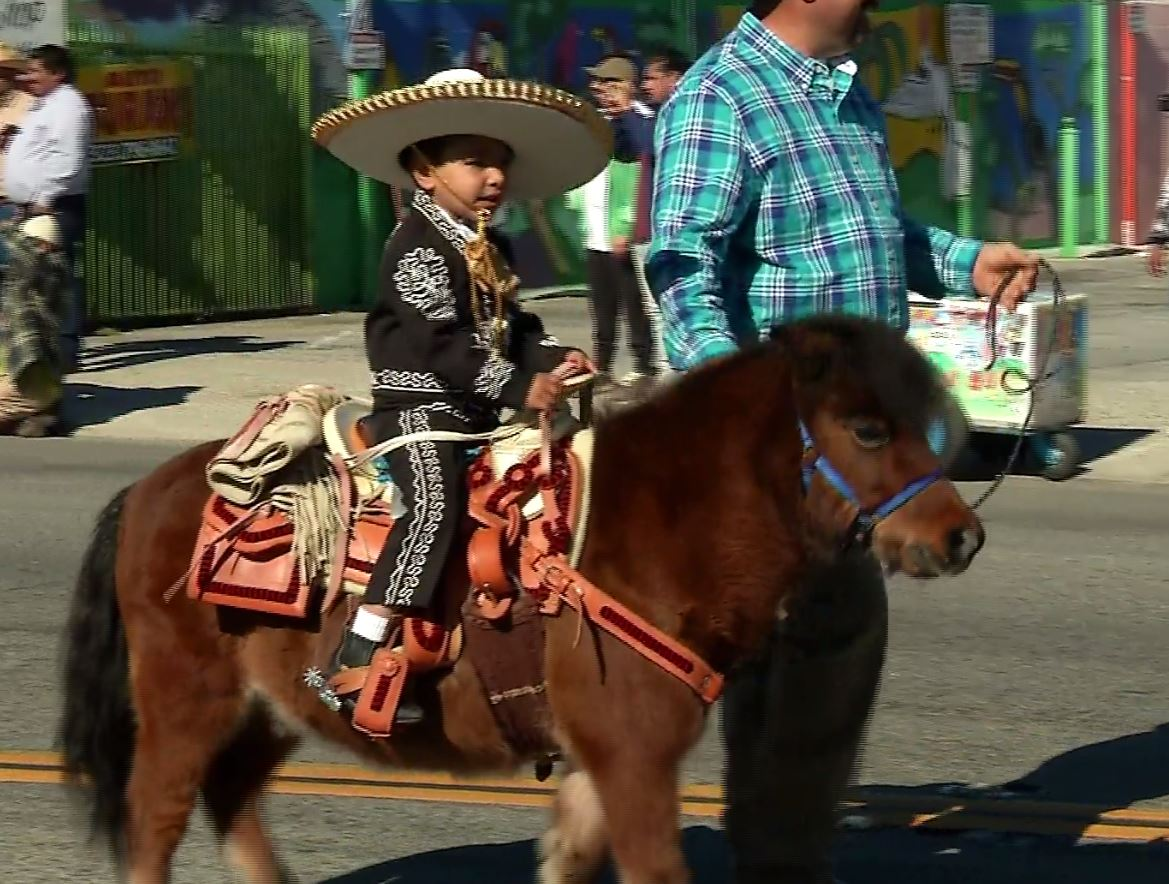 The 2018 East Los Angeles Christmas Parade took over Whittier Boulevard with crowds lining the streets, classic cars taking over the roads and celebrities sparkling in the warm California sun on Sunday, Dec. 2, 2018.