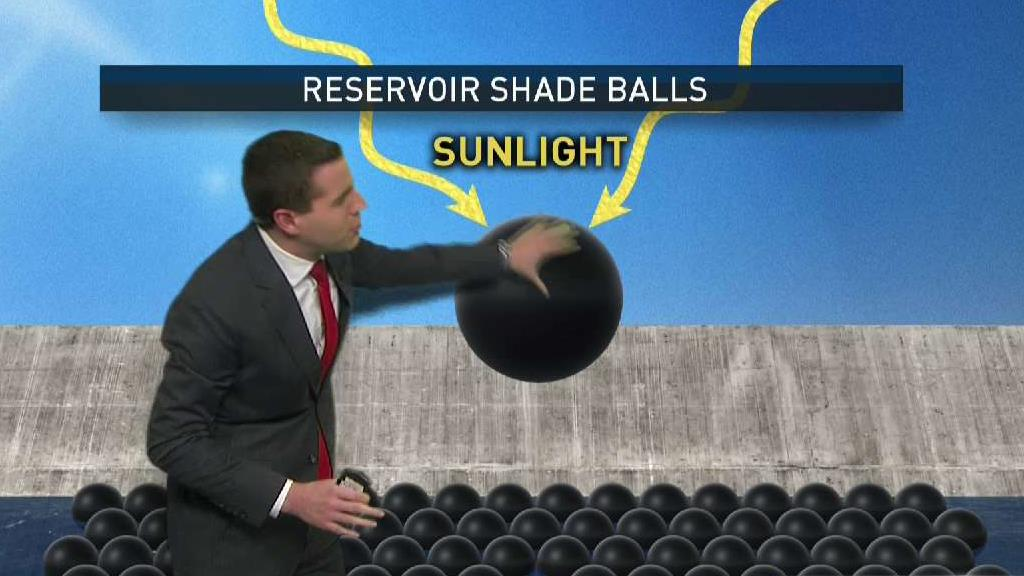 Explained: Why Millions of Shade Balls Cover This Reservoir