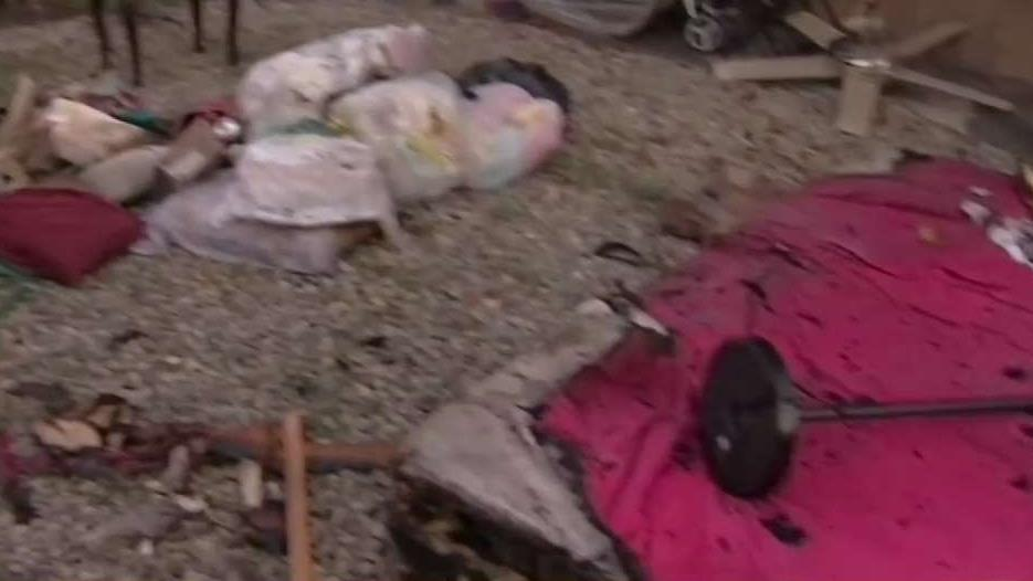 Family Claims Homeless People Started Fire That Burned Home