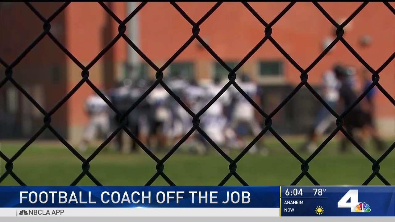 Football Coach Off Job After Alleged Prank in Hollywood