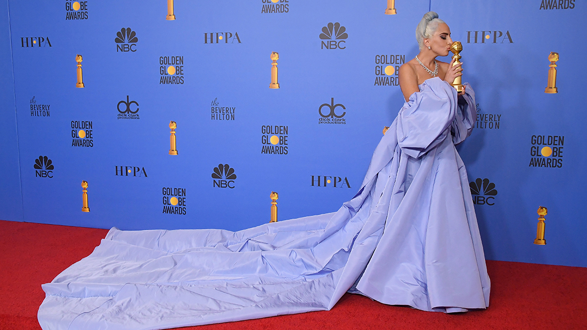Lady Gaga poses in the press room during the 76th Annual Golden Globe Awards at The Beverly Hilton Hotel on January 6, 2019 in Beverly Hills, California. (Photo by Steve Granitz/WireImage)