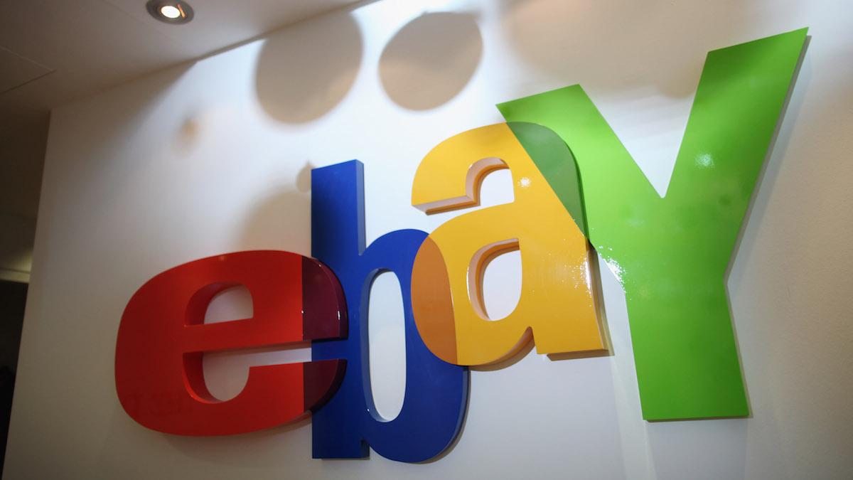 FILE- eBay logo