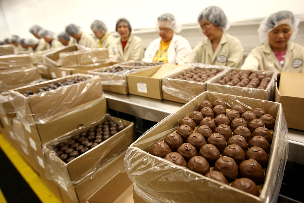 A Look Inside See's Candies Chocolate Factory