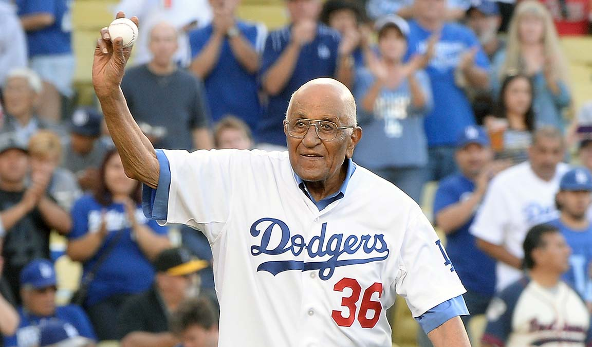 Dodgers Great Don Newcombe Has Died at Age 92